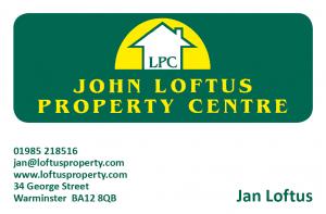 John Loftus business card front